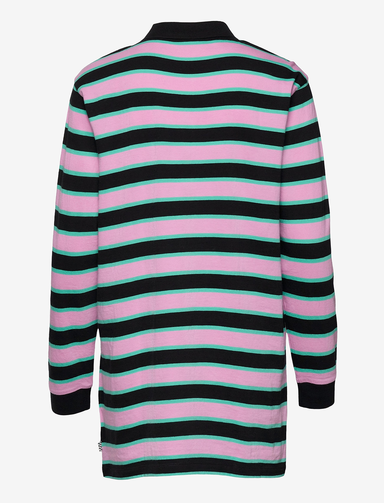 VANS - STRIPE POLO DRESS - tshirt jurken - black - 1