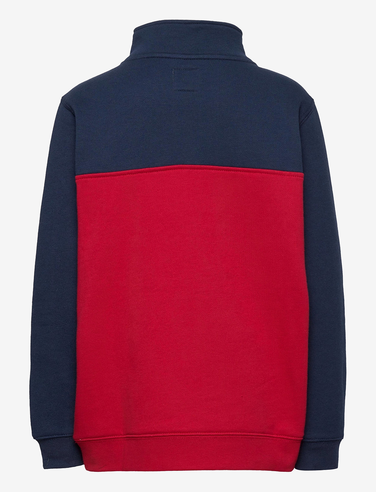 VANS - VICTORY 1/4 ZIP PO BOYS - sweatshirts - chili pepper - 1