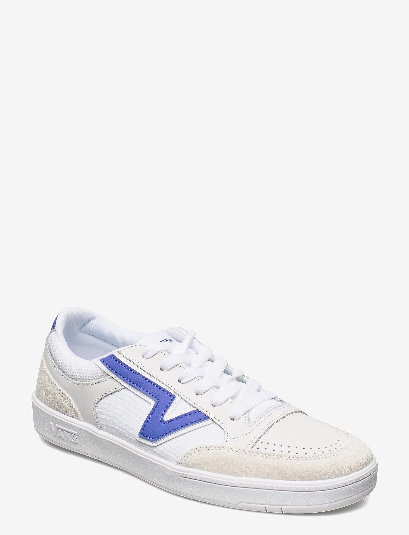 VANS - UA Lowland CC - laag sneakers - (court) tr wht/baja blue - 0