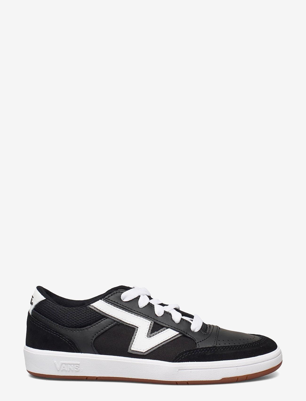 VANS - UA Lowland CC - laag sneakers - (staple) black/true white - 1