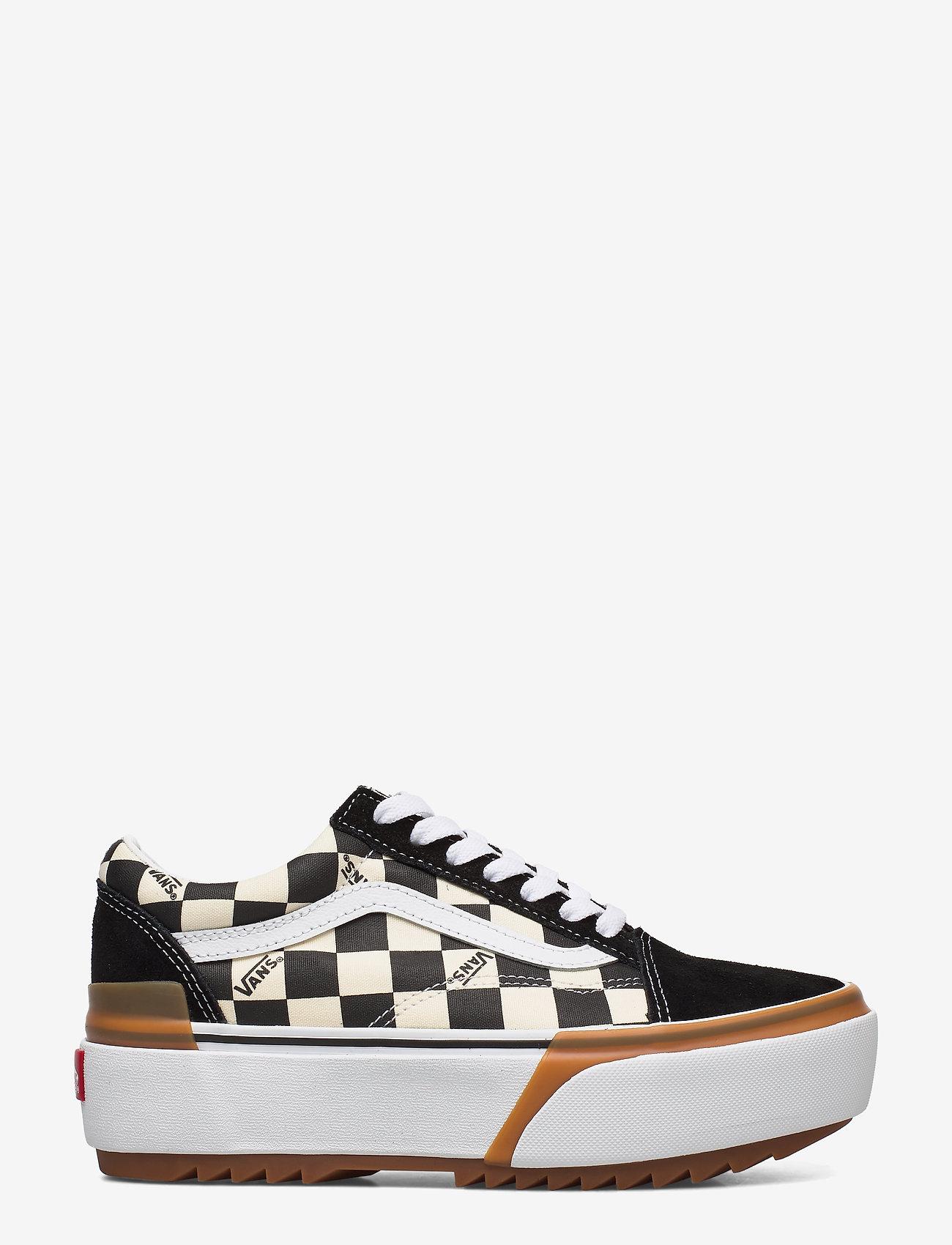 VANS - UA Old Skool Stacked - lage sneakers - (checkerboard) multi/true - 1