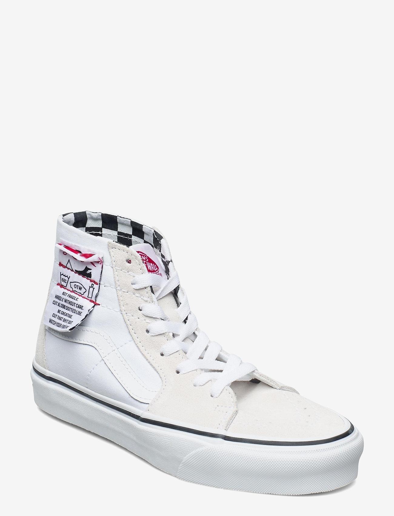 VANS - UA SK8-Hi Tapered - hoge sneakers - (diy) white/true white - 0