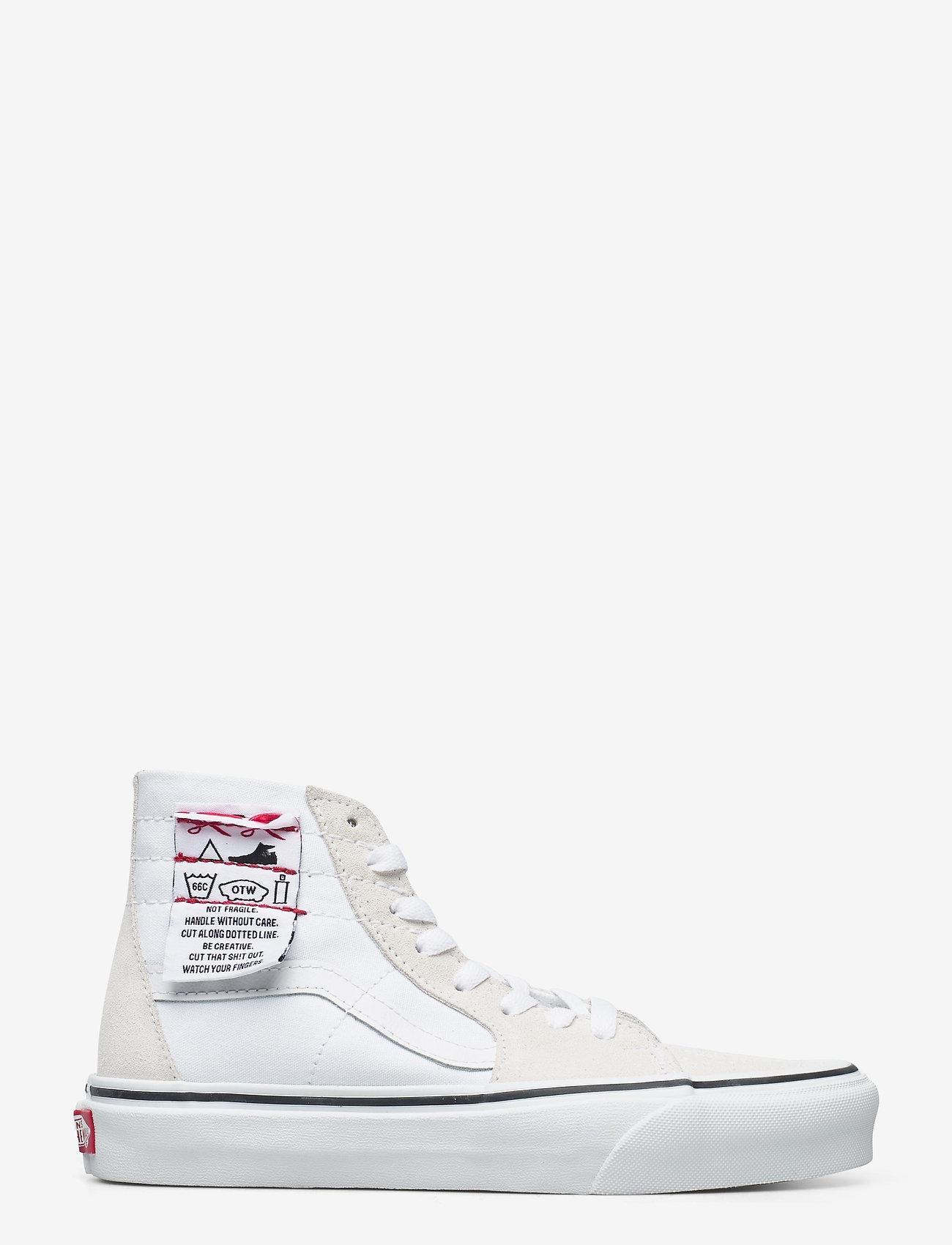 VANS - UA SK8-Hi Tapered - hoge sneakers - (diy) white/true white - 1