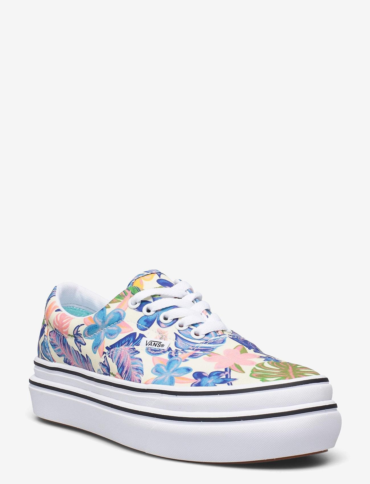 VANS - UA Super ComfyCush Era - lave sneakers - (tropicali)mellowylwtrwht - 0