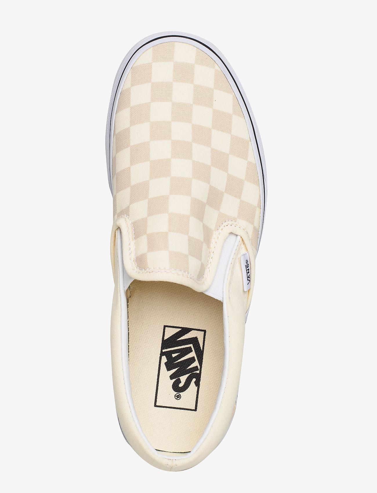 Ua Classic Slip-on ((checkerboard)clscwhttrwt) (449.25 kr) - VANS