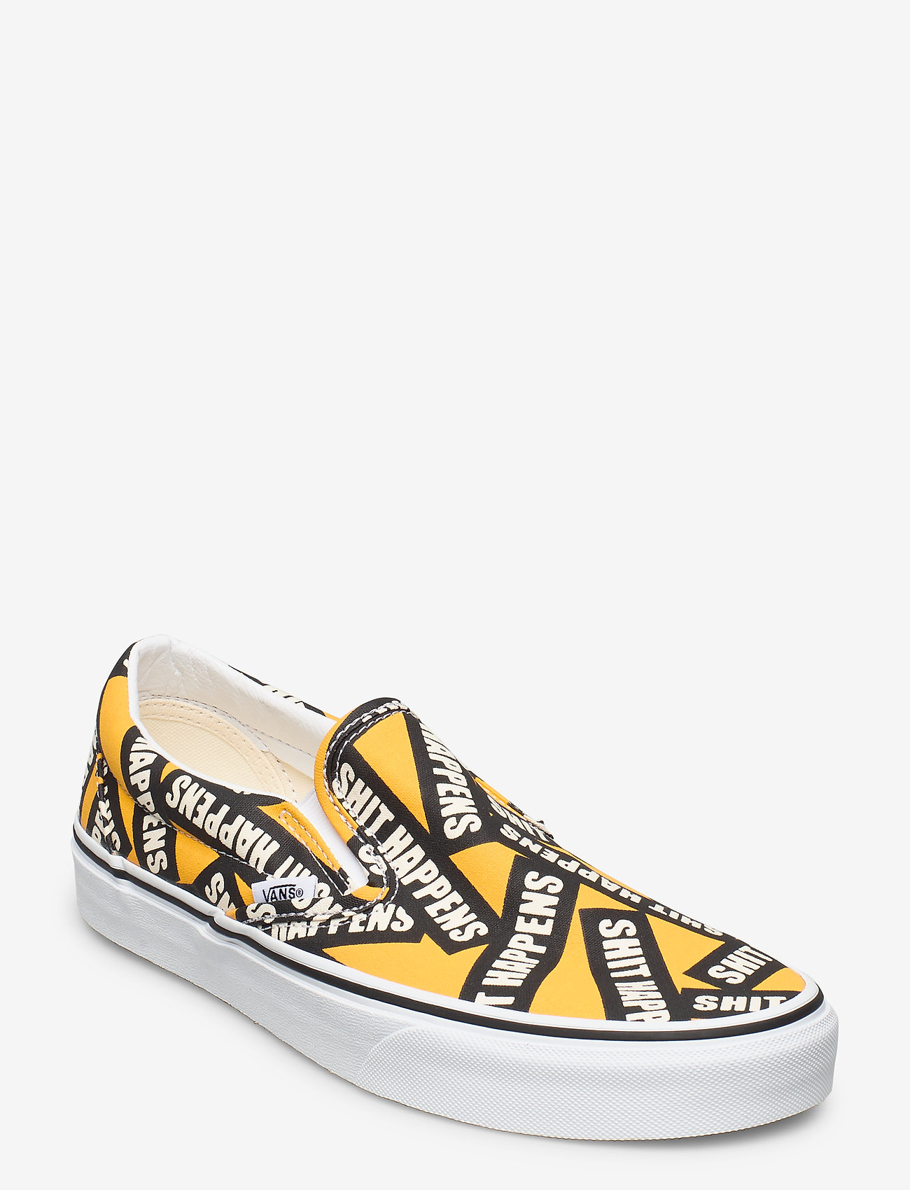 VANS - UA Classic Slip-On - baskets slip-ons - (shit happens)cdmylwtrwht - 0