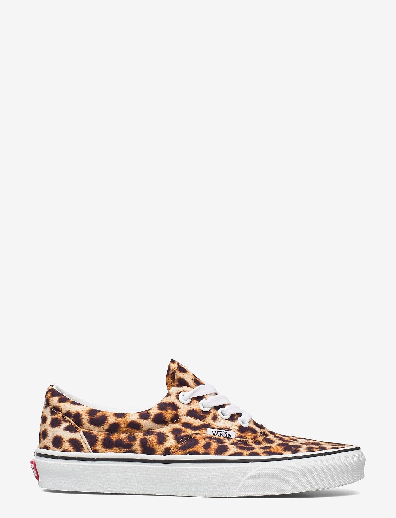 VANS - UA Era - lave sneakers - (leopard) black/truewhite - 1