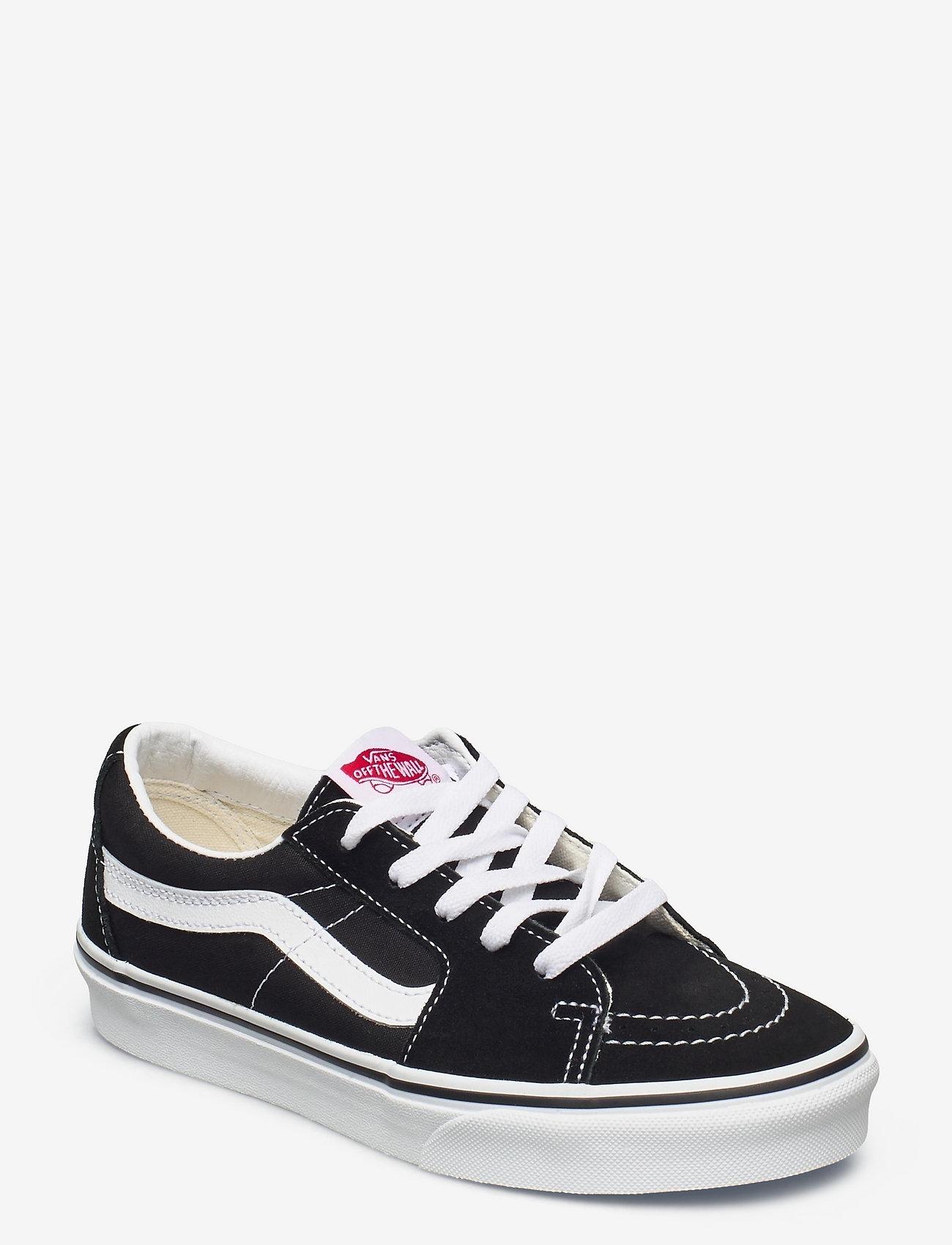 VANS - UA SK8-Low - laag sneakers - black/true white - 0