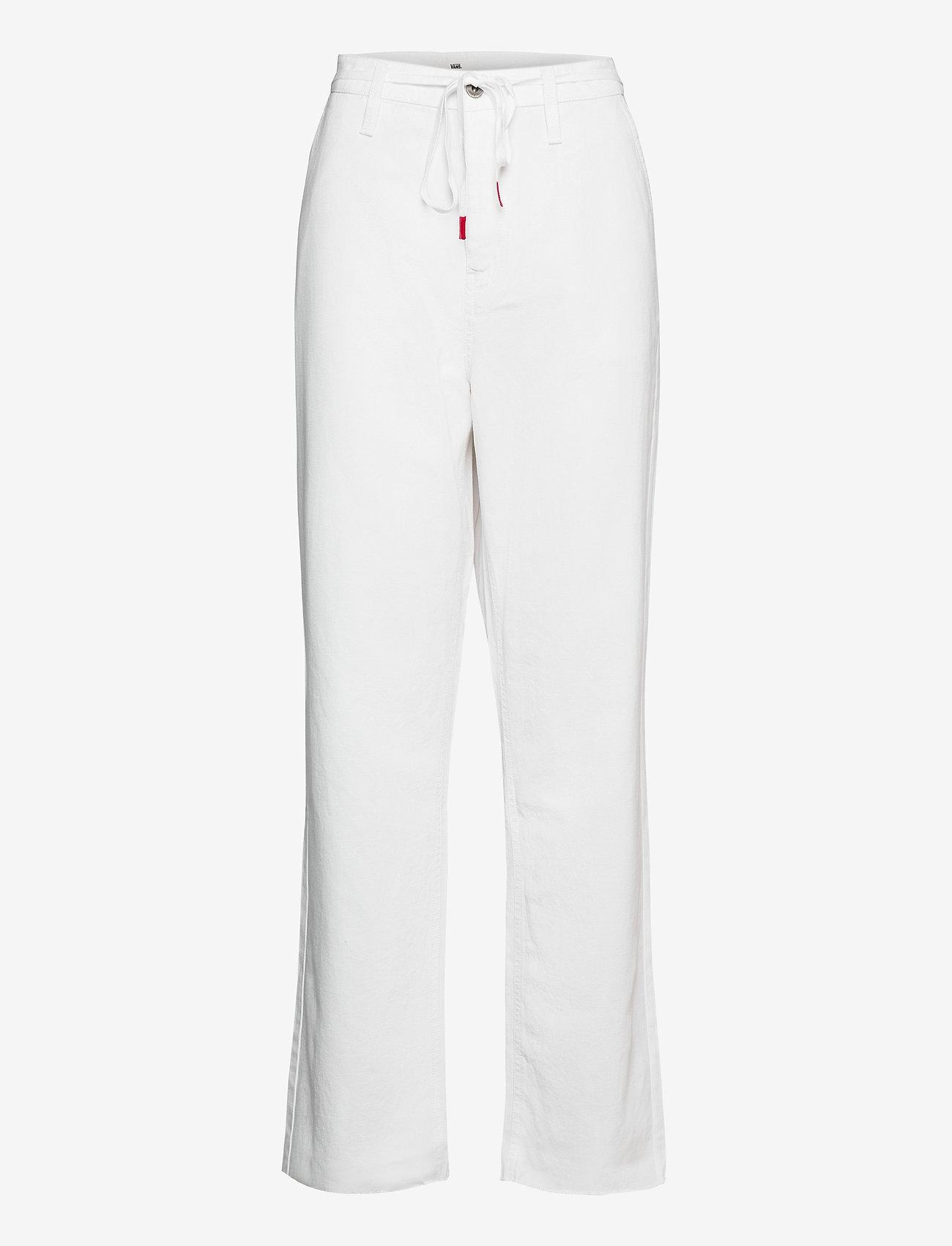 VANS - MAKE ME YOUR OWN PANT - sportbroeken - white - 0