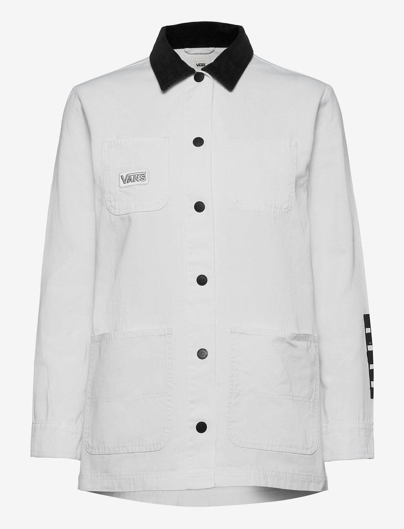 VANS - MAKE ME YOUR OWN DRILL CHORE COAT - sportjassen - white - 0