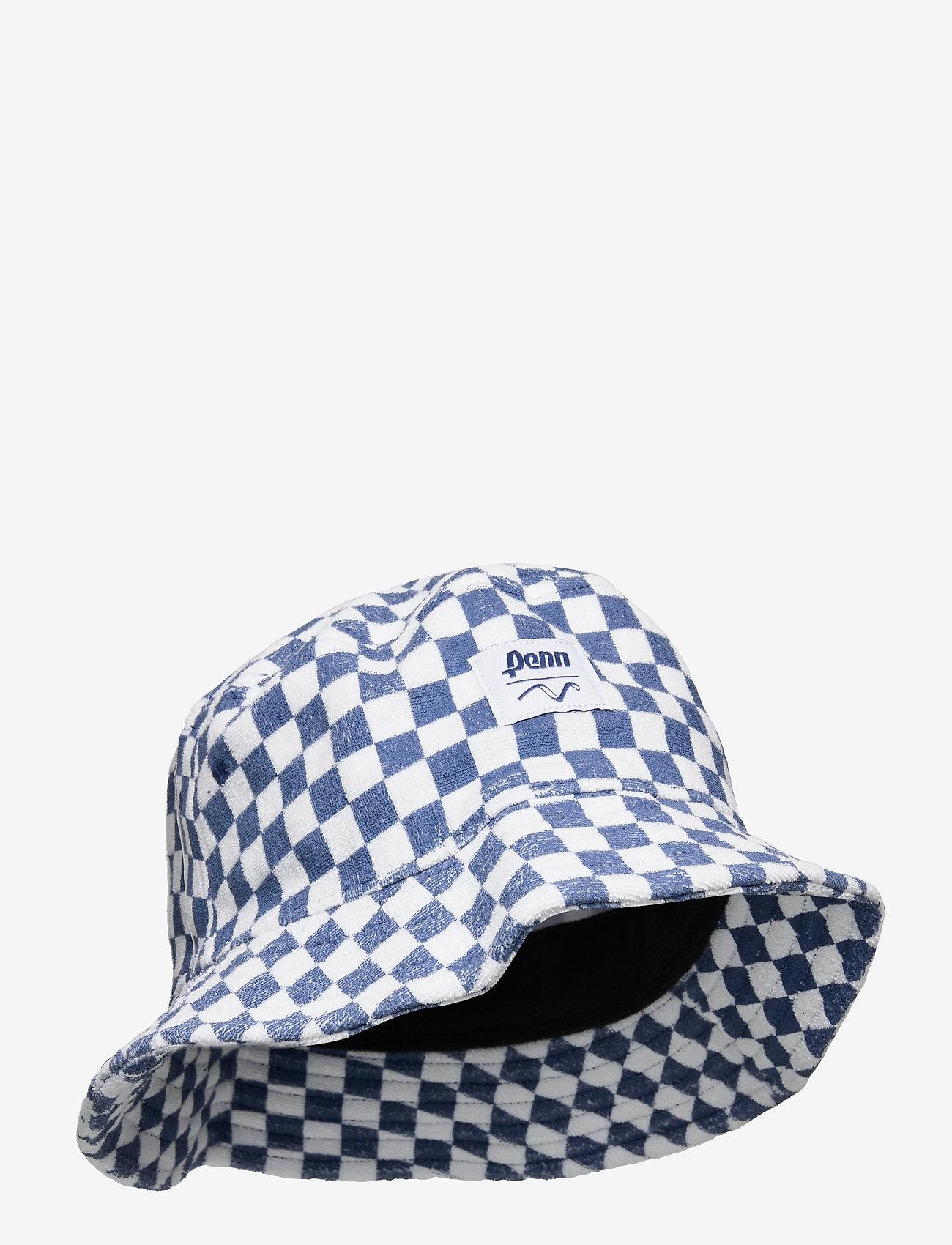 VANS - VANS X PENN BUCKET - bucket hats - (penn) true navy chckrbrd - 0