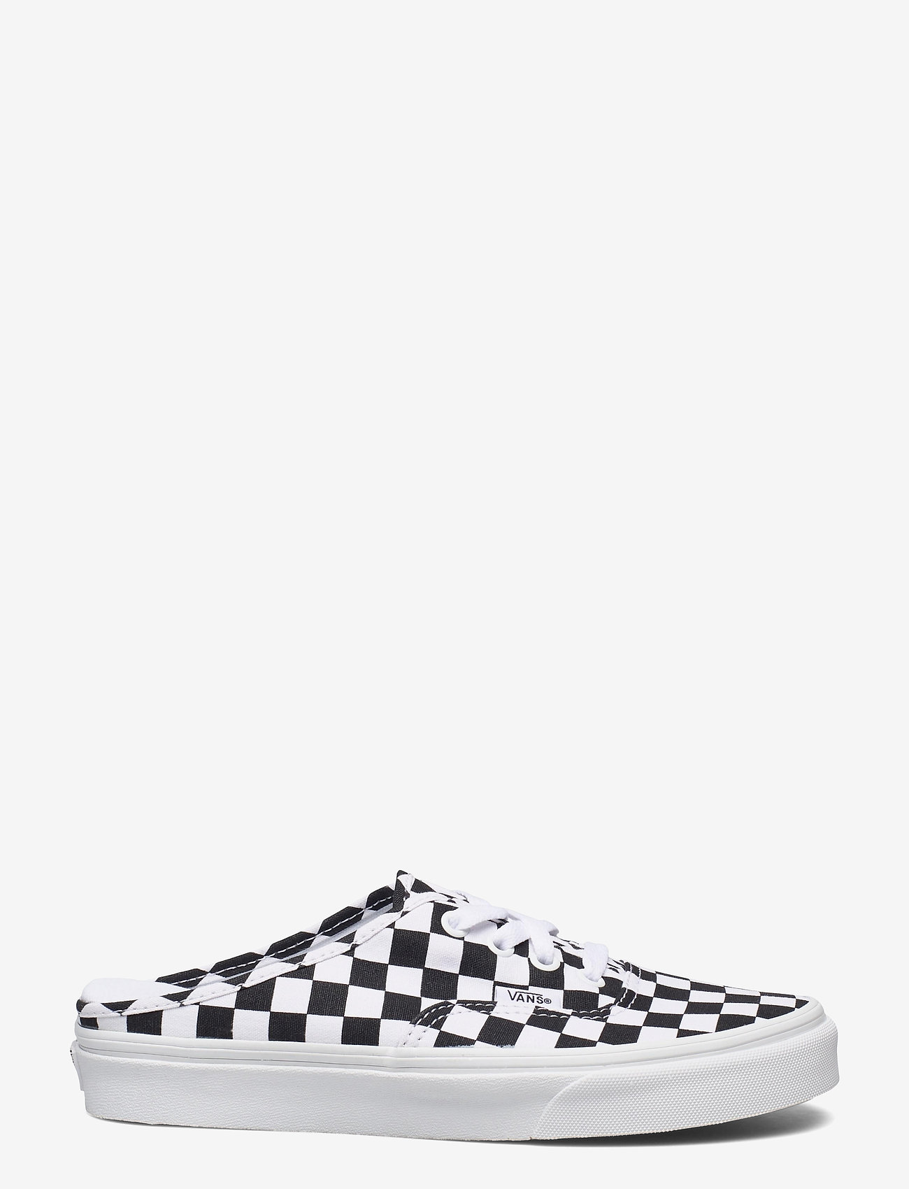 VANS - UA Authentic Mule - sko - (checkerboard) blk/truwht - 0
