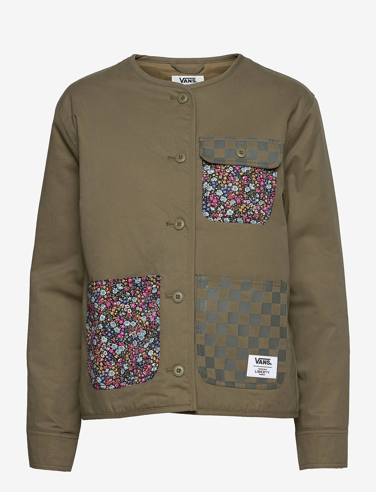 VANS - Outerwear Womens Alpha - sportjassen - (liberty fabric)brntolive - 0