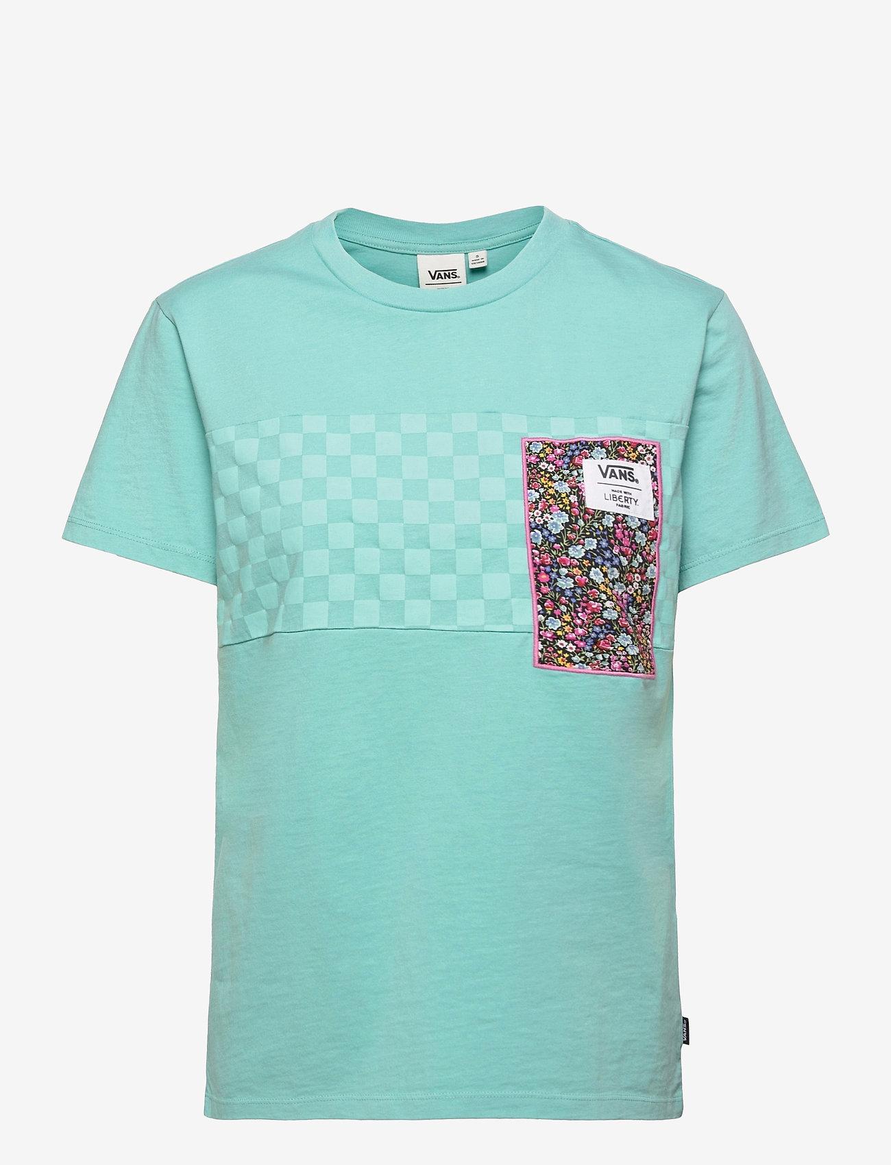 VANS - Top Womens Alpha - t-shirts - (liberty fabric)aqua haze - 0