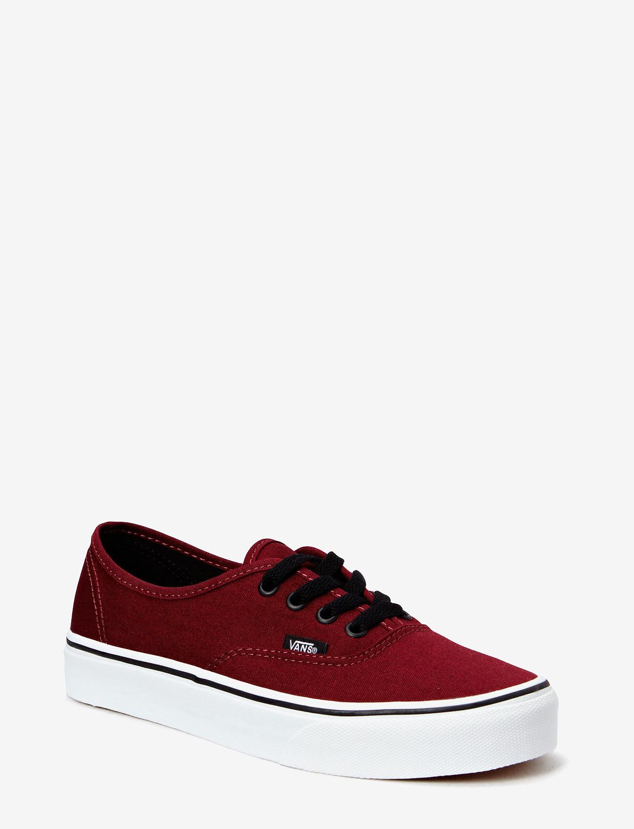 VANS - UA Authentic - laag sneakers - port royale/black - 0