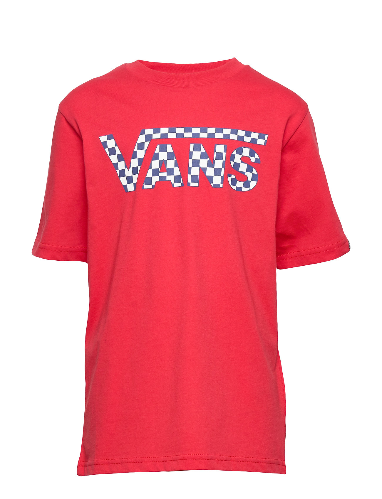 VANS VANS CLASSIC LOGO FILL BOYS - RACING RED/CHECKERBOARD