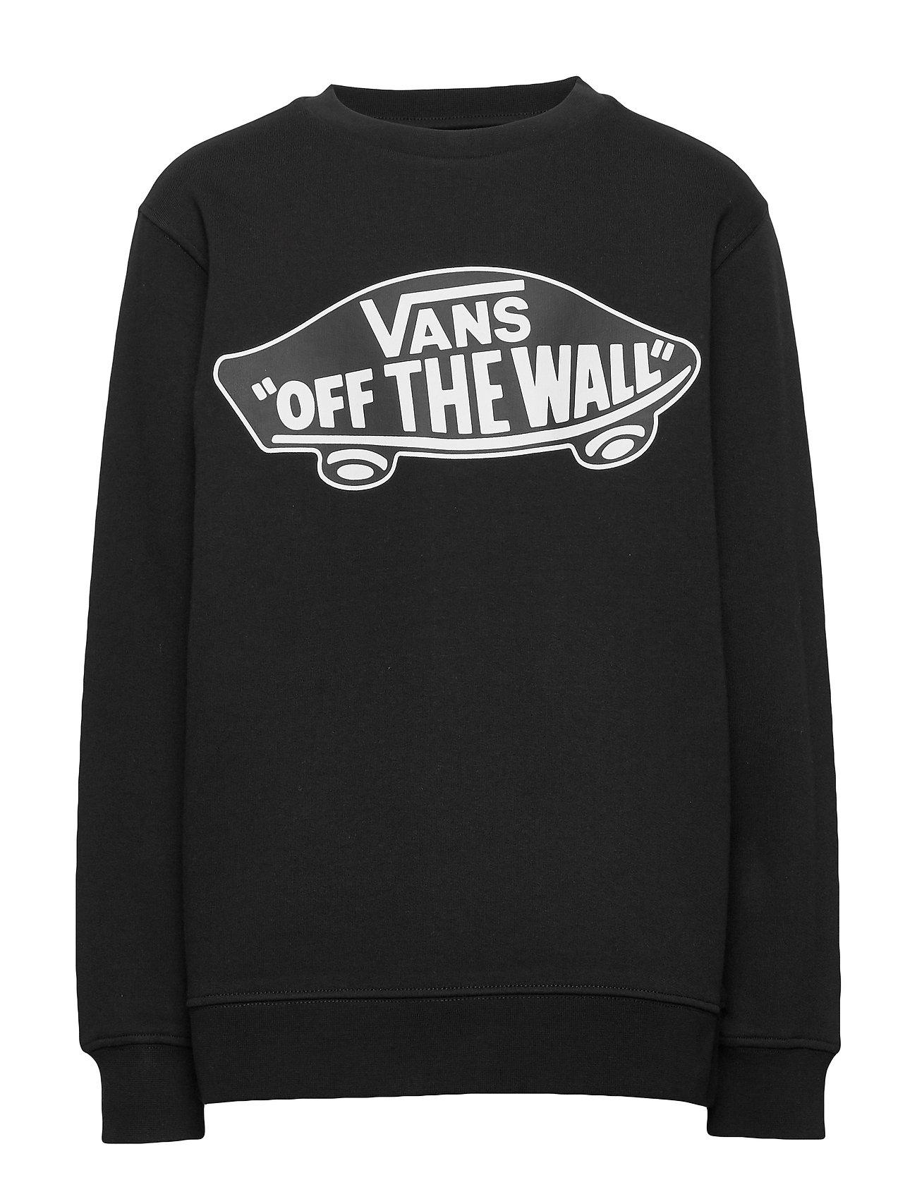 VANS OTW CREW BOYS - BLACK/WHITE OUTLINE