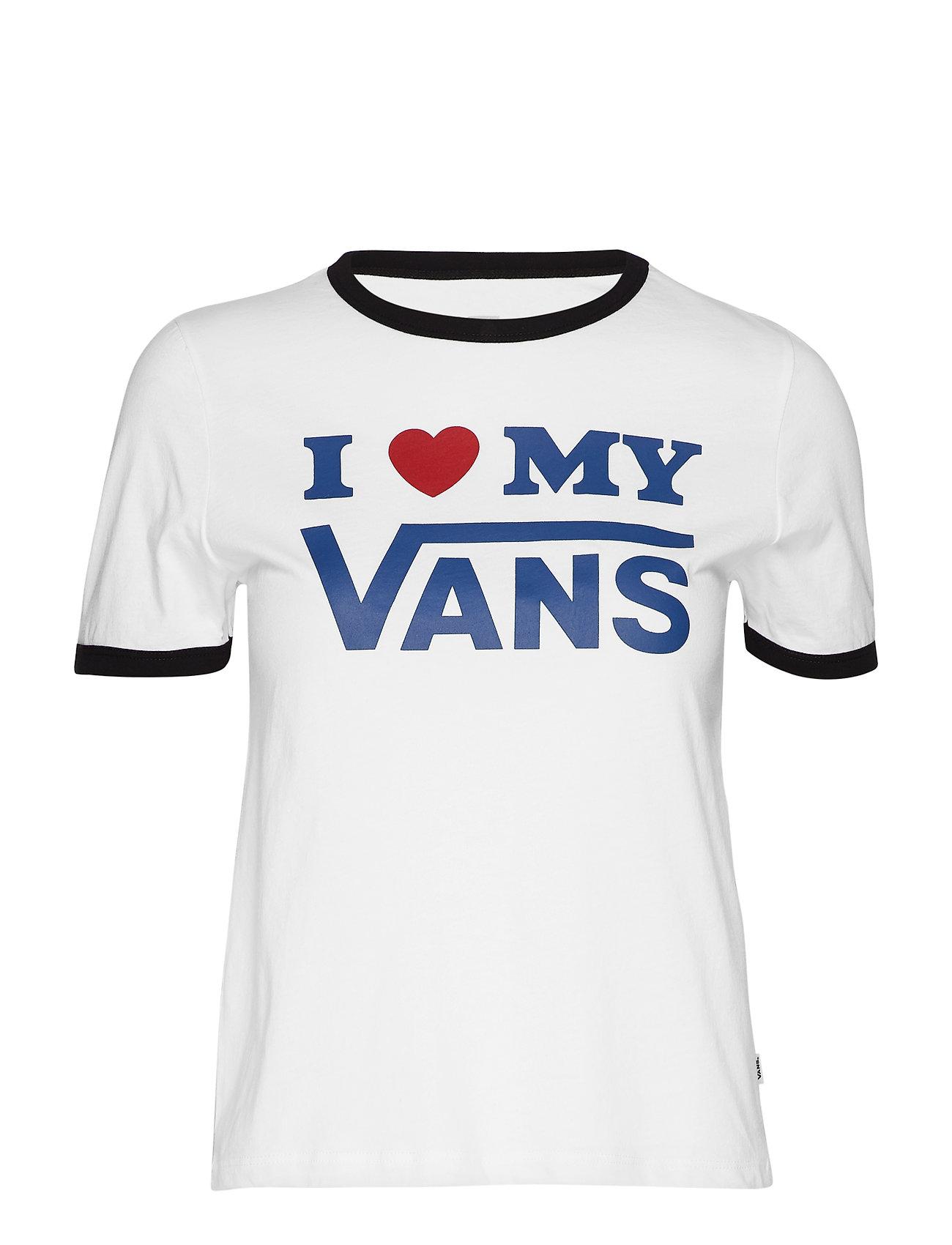 VANS VANS LOVE RINGER - WHITE/BLACK