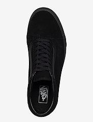 VANS - UA Old Skool - laag sneakers - (suede)black/black/black - 3