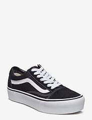 VANS - UA Old Skool Platform - chunky sneakers - black/white - 0