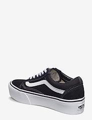 VANS - UA Old Skool Platform - chunky sneakers - black/white - 2