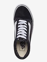 VANS - UA Old Skool Platform - chunky sneakers - black/white - 3