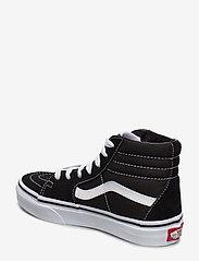 VANS - UY Sk8-Hi - sportiska stila apavi - black/true white - 2