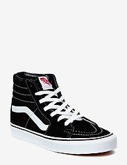 VANS - UA SK8-Hi - hoog sneakers - black/black/white - 0