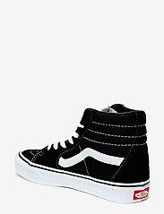 VANS - UA SK8-Hi - hoog sneakers - black/black/white - 1