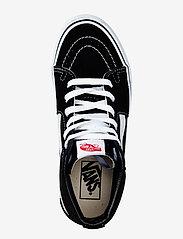 VANS - UA SK8-Hi - hoog sneakers - black/black/white - 2