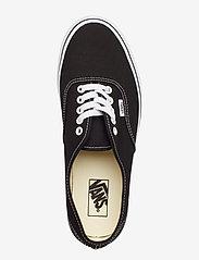 VANS - UA Authentic - lave sneakers - black - 3