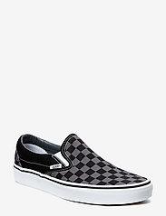 VANS - UA Classic Slip-On - slip-on schoenen - black/pewter checkerboard - 0