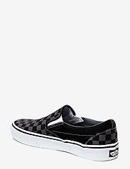 VANS - UA Classic Slip-On - slip-on schoenen - black/pewter checkerboard - 1