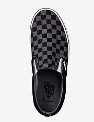 VANS - UA Classic Slip-On - slip-on schoenen - black/pewter checkerboard - 2