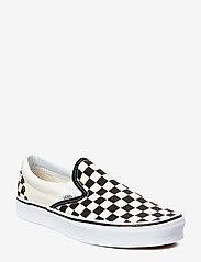 VANS - UA Classic Slip-On - slip-on schoenen - blk&whtchckerboard/wht - 0