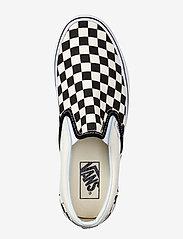 VANS - UA Classic Slip-On - slip-on schoenen - blk&whtchckerboard/wht - 2