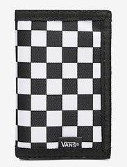 VANS - SLIPPED - beurzen - black/white check - 0
