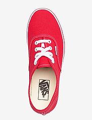 VANS - UA Authentic - laag sneakers - red - 3