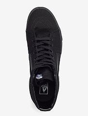 VANS - UA SK8-Hi - hoog sneakers - black/black/black - 3