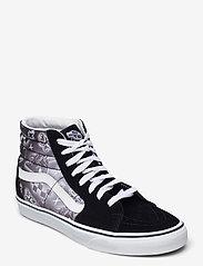 VANS - UA SK8-Hi - hoge sneakers - (better together)blktrwht - 0