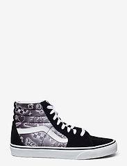VANS - UA SK8-Hi - hoge sneakers - (better together)blktrwht - 1