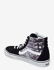 VANS - UA SK8-Hi - hoge sneakers - (better together)blktrwht - 2