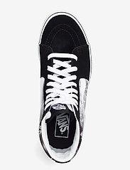 VANS - UA SK8-Hi - hoge sneakers - (better together)blktrwht - 3