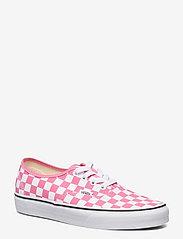 VANS - UA Authentic - lage sneakers - (checkerboard)pnklmndtrwt - 0