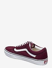 VANS - UA Old Skool - laag sneakers - port royale/true white - 2