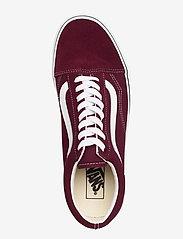 VANS - UA Old Skool - laag sneakers - port royale/true white - 3