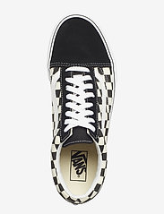 VANS - UA Old Skool - laag sneakers - (primary check) blk/white - 3