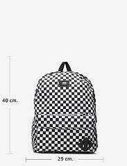VANS - OLD SKOOL III BACKPACK - trainingstassen - black/white check - 4