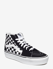 VANS - UA SK8-Hi Platform 2.0 - chunky sneakers - checkerboard/true white - 0