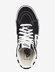 VANS - UA SK8-Hi Platform 2.0 - chunky sneakers - checkerboard/true white - 3